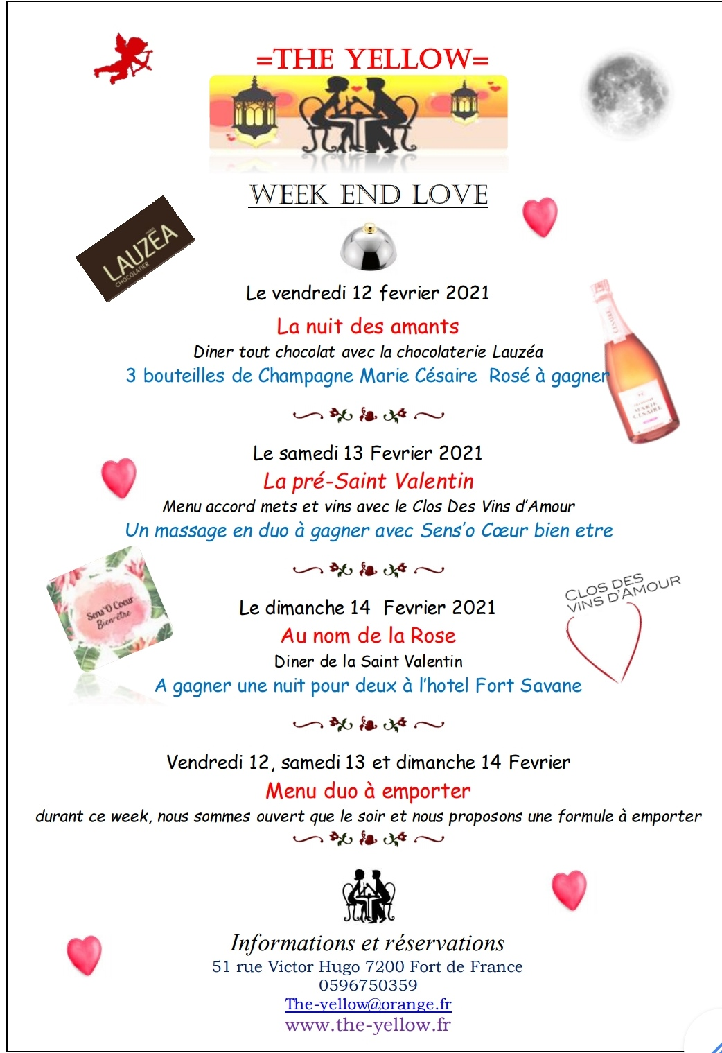 Week-end de la Saint Valentin
