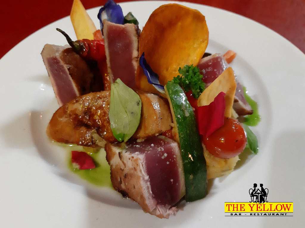 Mi-cuit de thon façon rossini
